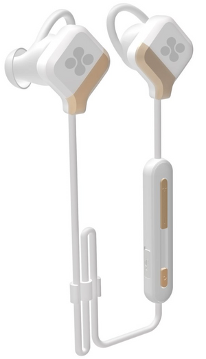 Promate Solix2 BT Secure Fit Multi-Point Pairing Sporty Gear-Buds - White
