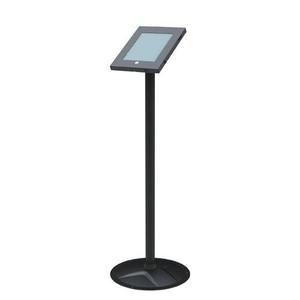 Brateck Anti-Theft Secure Enclosure Floor Stand for iPad 2, iPad 3, iPad 4, iPad Air & iPad Air 2 - Black