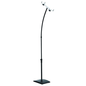 Brateck Universal Floor Stand for iPads and Samsung Galaxy and other tablets (Black)
