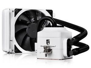 Deepcool Gamer Storm Captain 120EX AIO Liquid Cooling, AM4, WHITE