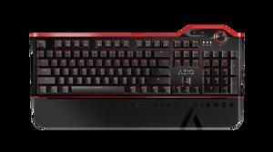 AZIO MGK L80 RED Backlit Mechanical Gaming Keyboard