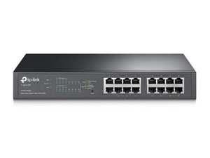 TP-Link TL-SG1016PE 16-Port Gigabit Desktop/Rackmount Switch With 8-Port PoE+