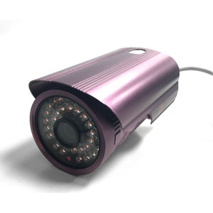 "Day & Night Security Camera 3.6mm Fixed Lens, 1/4"" Sharp Colour CCD, 420 TVL, 30 LEDs, 30m IR, Metal"