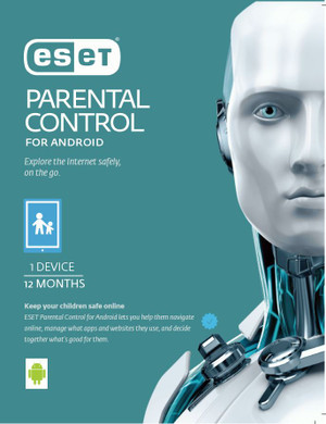 ESET Parental Control For Android 1 Device 1 Year Retail Download Card