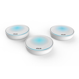 ASUS Lyra AC2200 Tri-Band Whole-Home Wi-Fi System Mesh Network (3-Pack)