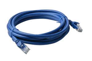 Cat 6a UTP Ethernet Cable, Snagless - 7m Blue