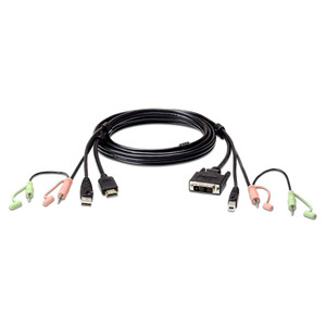 Aten USB HDMI to DVI-D KVM Cable with Audio (1.8M cable)
