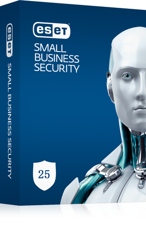ESET Small Business Pack 25-25 Endpoints,25 Android Devices,3 File Servers,30 Mailboxes,1Y Keys Only