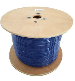 Cat 6A Underground/External Cable 350m Roll in Blue
