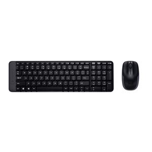 Logitech Wireless Combo MK220, Black, USB Receiver, Keyboard & Mouse