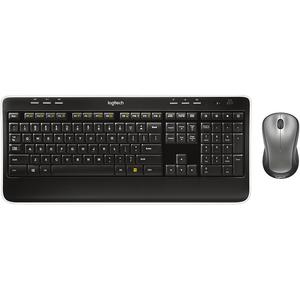 Logitech Wireless Combo MK520r, Black, USB Receiver, Keyboard & Mouse