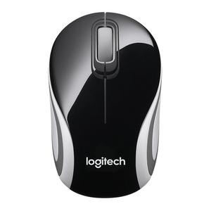 Logitech Wireless Mouse M187 Mini, 3 Button, USB Receiver, Colour: Black