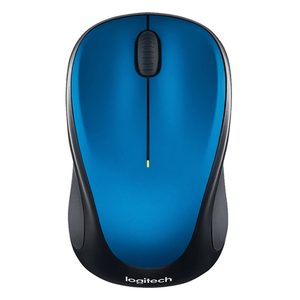 Logitech Wireless Mouse M235, 3 Button, USB Receiver, Scroll Wheel, Colour: Blue
