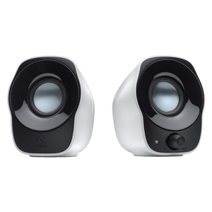 Logitech Speaker System 2.0, USB, Z120, White, 1.2W RMS, 3.5mm Input