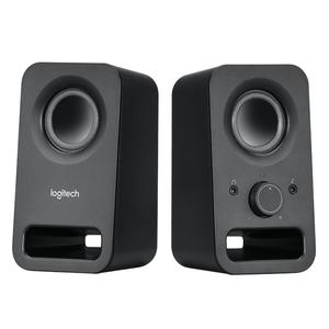 Logitech Speaker System 2.0, Z150, Black, Headphone Jack, 3.5mm Input, 6W RMS (Peak)