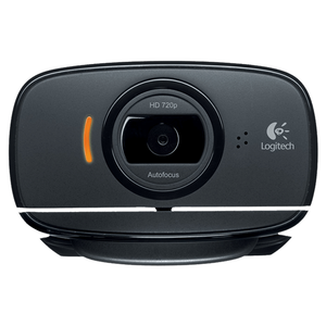 Logitech Webcam HD C525, USB, Monitor Clip