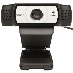 Logitech Webcam C930e, USB, Compatible with Skype, Lync, Cisco WebEx