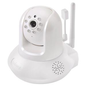 Edimax Smart HD Wi-Fi Pan/Tilt Network Camera with Temperature & Humidity Sensor, Day & Night