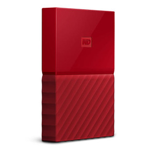 "WD External 2TB USB3 2.5"" Hard Drive (HDD) - My Passport (Red)"