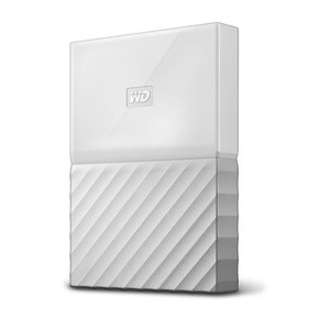 "WD External 2TB USB3 2.5"" Hard Drive (HDD) - My Passport (White)"