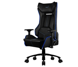Aerocool P7-GC1 AIR RGB Gaming Chair with Remote Control - Black/Blue