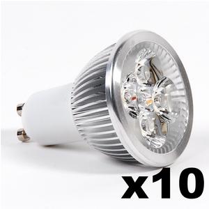 OMNIZONIC LED 10 Pack - Spotlight GU10 4W (250 lm) Natural White
