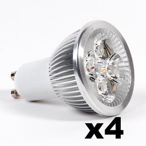 OMNIZONIC LED 4 Pack - Spotlight GU10 4W (250 lm) Warm White