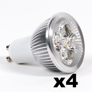 OMNIZONIC LED 4 Pack - Spotlight MR16-GU5.3 4W (250 lm) Natural White