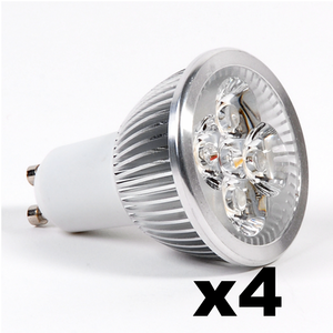 OMNIZONIC LED 4 Pack - Spotlight MR16-GU5.3 4W (250 lm) Warm White