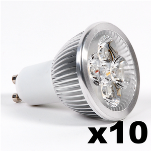 OMNIZONIC LED 10 Pack - Spotlight MR16-GU5.3 4W (250 lm) Warm White