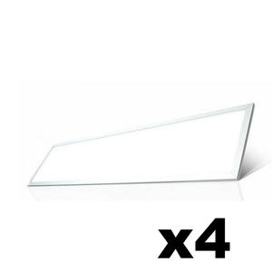 OMNIZONIC LED 4 Pack - Panel 42W 4000K 2700Lm at 1200 x 300mm