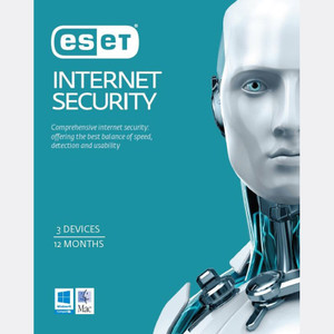 ESET Internet Security 3 Device / 1 Year Download 50-Pack LIMITED TIME ONLY