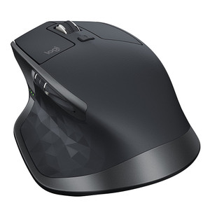 Logitech Wireless Mouse MX Master 2S, 7 Button, USB Receiver