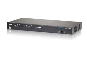 Aten 8-Port Rackmount HDMI KVM Switch with Multi Display feature