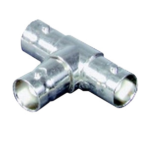 BNC T Adapter - 1 Female to 2 Female