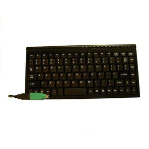 Mini Keyboard USB & PS2 Black
