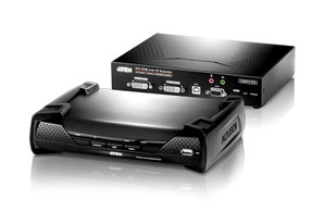 Aten DVI Dual Display KVM over IP Extender
