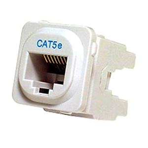 Cat5E Australian IDC Jack - White