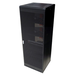 Linkbasic 37U 1000mm Depth with four 240V fans 8 ports 10A PDU Mesh door