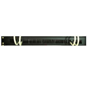 LinkBasic 1RU 19' Cable Management Brush Rail