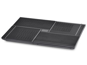 """Deepcool Multi Core X8 17"""" Notebook Cooler With 4x100mm Fans, Step Switch & 2 USB Ports"""
