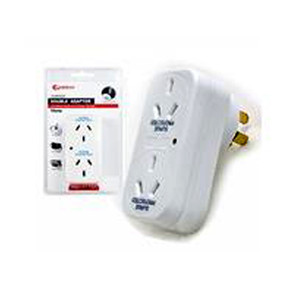 2 Outlet Adapter with Overload Protection (017CS)