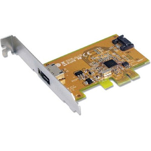 Sunix SATA1616 PCI Express SATA 3.0 Card 6Gbit/s - 1 Internal and 1 External Port