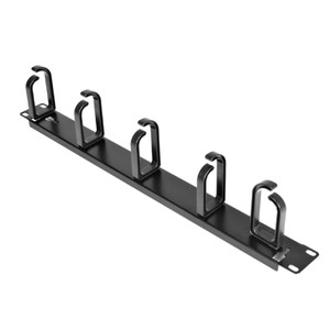 1U Size 19' Cable Organiser Panel