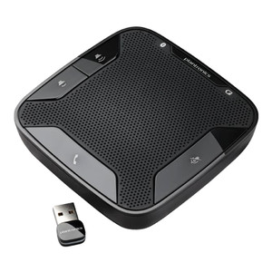 Plantronics Calisto P620-M Bluetooth Speakerphone for PC and Mobile Devices, optimized for Microsoft