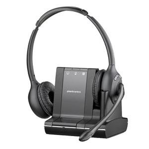 Plantronics Savi W720 Wireless Over Head Binaural Headset System