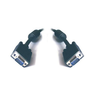 VGA Monitor Cable HD15M-HD15M with Filter UL Approved 2m