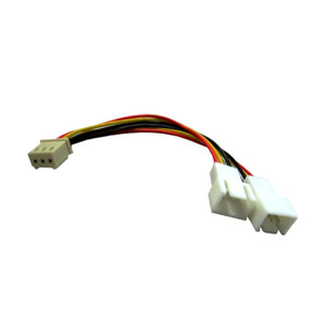 3 Pin Fan Y Cable (1F - 2M)