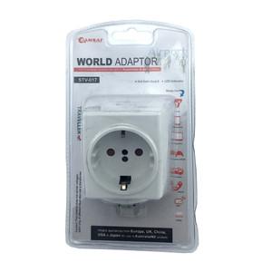 240V Travel Adapter - Britain / USA / Europe / Japan / China / Hong Kong / Singapore / Canada