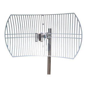 TP-Link 2.4GHz 24DBI Outdoor Grid Parabolic Directional Antenna, N-type Female Connector
